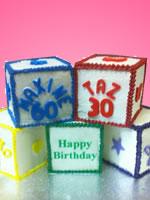 Cubes Novelty Cake