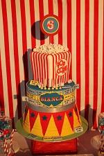 carnival circus cake