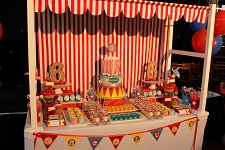 carnival circus lolly buffet